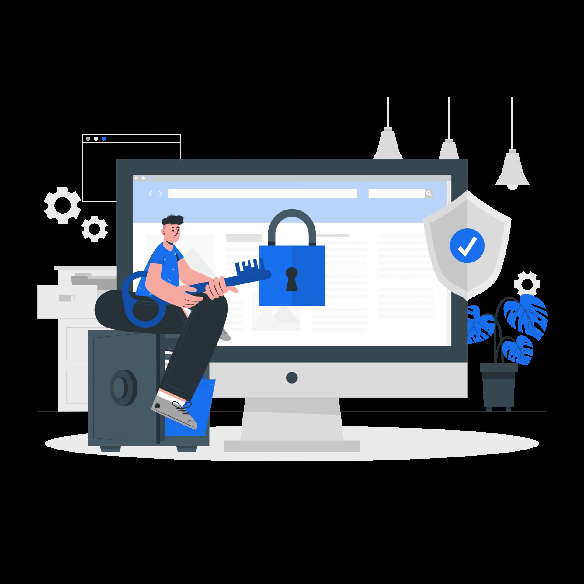 Ziplo protected data